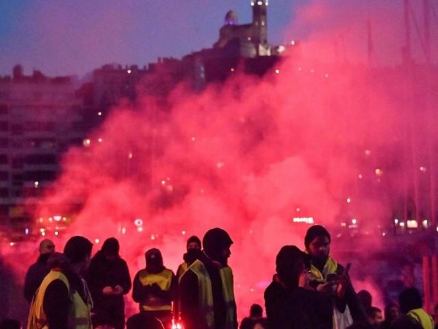 Mehr als 80.000 bei Gelbwesten-Protesten in Frankreich