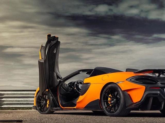 - McLaren 600LT Spider: Der Supersportler aus England ist eine echte Frischluft-Rakete