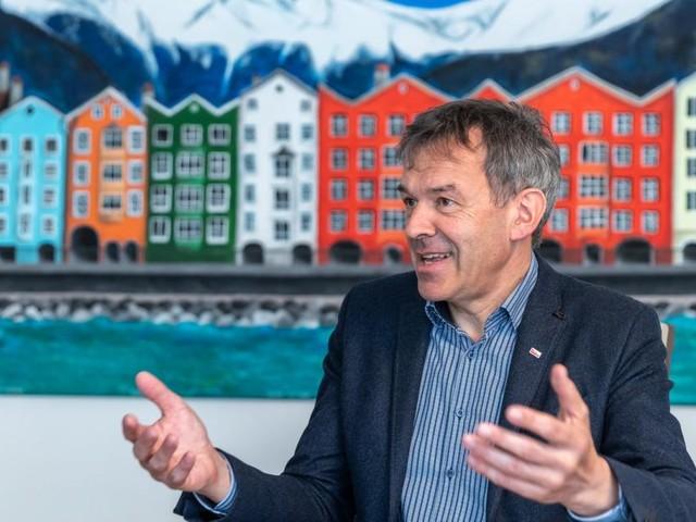 Innsbrucks grüner Stadtchef am Gängelband
