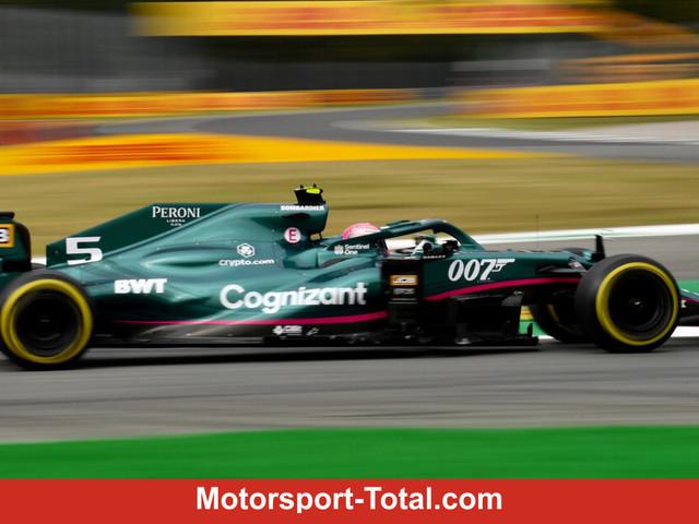 Boxengassen-Vorfall um Sebastian Vettel: Strafe für Aston-Martin-Team!