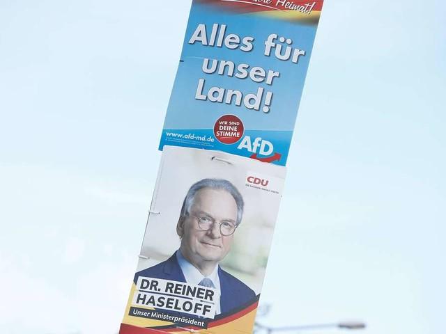 Sachsen-Anhalt vor Wahl-Showdown: CDU vorne - doch eine Umfrage sieht AfD in Front
