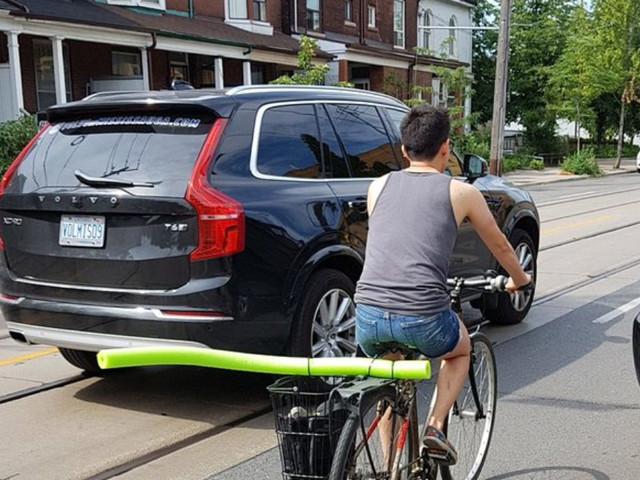 Autos mit einem ganz einfachen Mittel auf Abstand halten