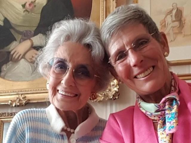 Adieu Lotte Tobisch: Ihre Freundin Trixi Schuba erinnert sich