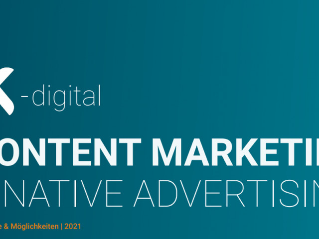 Content Marketing & Native Advertising