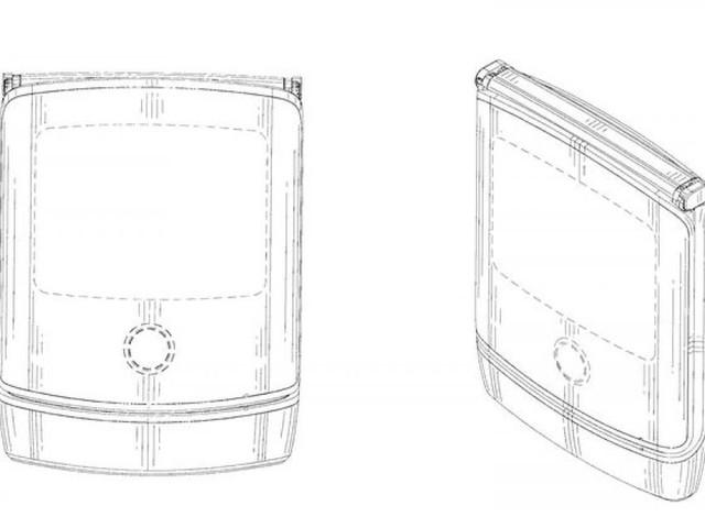 So soll das Motorola Razr mit faltbarem Display aussehen