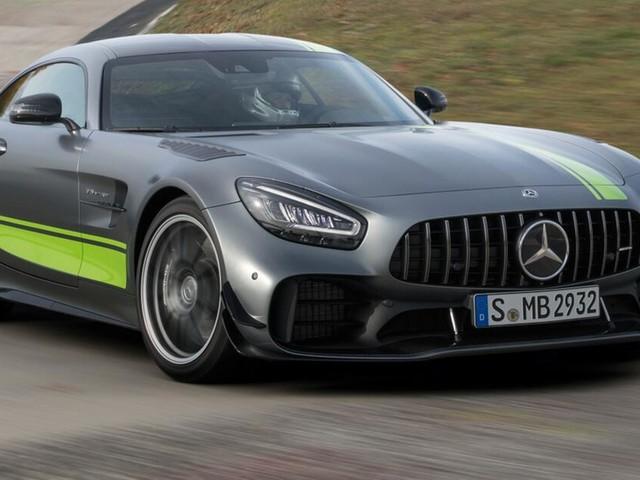 Mercedes-AMG GT und AMG GT R PRO: Frische Optik und noch agiler