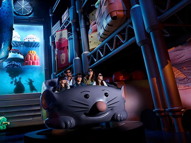 """Disneyland Paris schließt """"Ratatouille""""-Themenfahrt für aufwendige Renovierung bereits vier Jahre nach Eröffnung"""