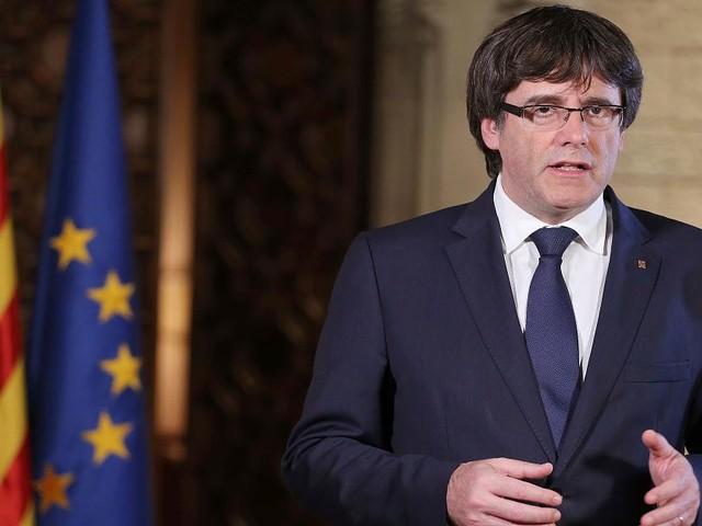 """Spanien - Katalanischer Separatisten-Führer geißelt eigene Entmachtung als """"Putsch"""""""