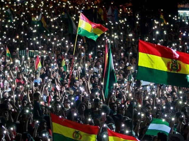 "Massenprotest gegen Morales: Ultimatum an den ""Tyrannen"""