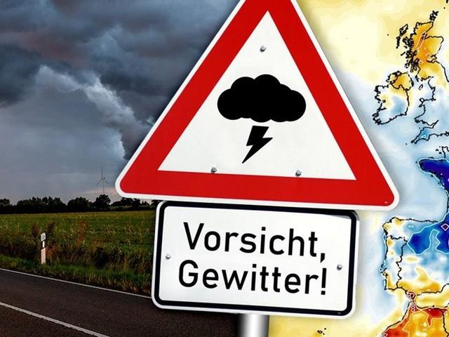 Wetter dreht auf! Experte warnt: Neue Unwetter rollen auf uns zu, Gewitter mit Starkregen drohen! HIER wird es am schlimmsten