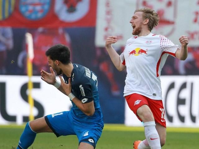 Emil Forsberg hofft auf mildes Urteil nach Rot - RB Leipzig wirft Florian Grillitsch Schauspielerei vor
