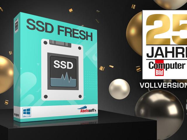 Exklusive Vollversion gratis: SSD Fresh 2021 tunt Ihre SSD