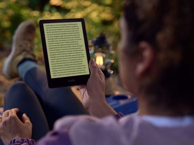 Kindle Paperwhite: Neue Generation von Amazons E-Book-Reader mit größerem Bildschirm vorgestellt