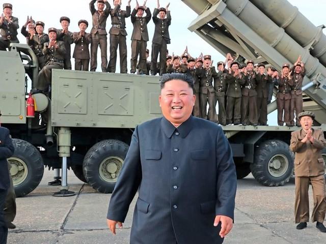 """Nordkorea testete neuen """"Mehrfach-Raketenwerfer"""""""