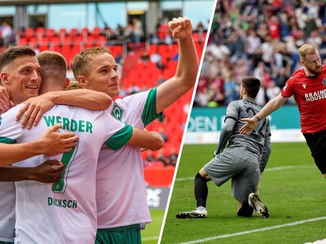 2. Liga kompakt: Werder feiert deutlichen Sieg - St. Pauli verpasst Platz eins