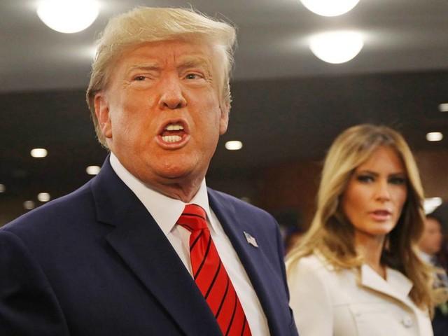 Melania Trump : Das trägt sie, wenn sie sauer ist auf ihren Mann
