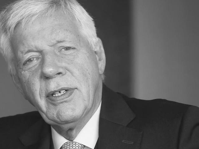 Im Alter von 72 Jahren - Nach langer Krankheit: Ex-Bundeswirtschaftsminister Werner Müller ist tot
