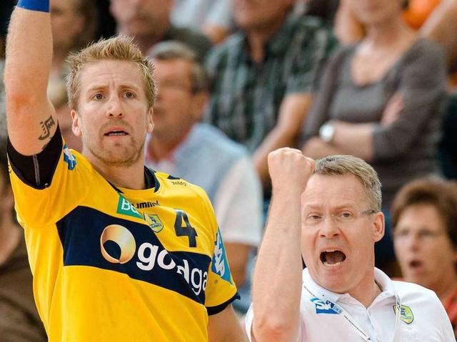 Für MT-Trainer Gudmundsson geht es bei der Partie bei den Rhein-Neckar Löwen zurück ins alte Wohnzimmer