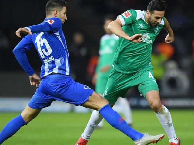 Werder-Serie halten: Pizarro sicherte spätes 1:1 bei Hertha