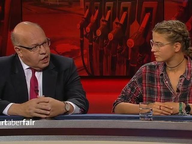 """Altmaier warnt vor """"Klimapolizei"""" bei Frank Plasberg – eine Klimaaktivistin verspottet ihn"""