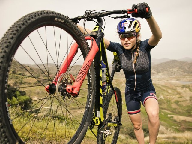 Mountainbike-Weltcup: Laura Stigger musste geschwächt aufgeben