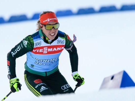 Preuß + Rees laufen in derSingle-Mixed-Staffel auf Rang 4