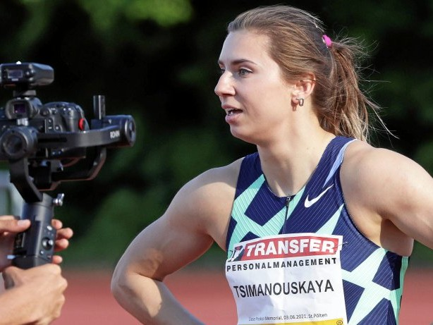 Olympia 2021: Sprinterin aus Belarus soll zu Ausreise gezwungen werden