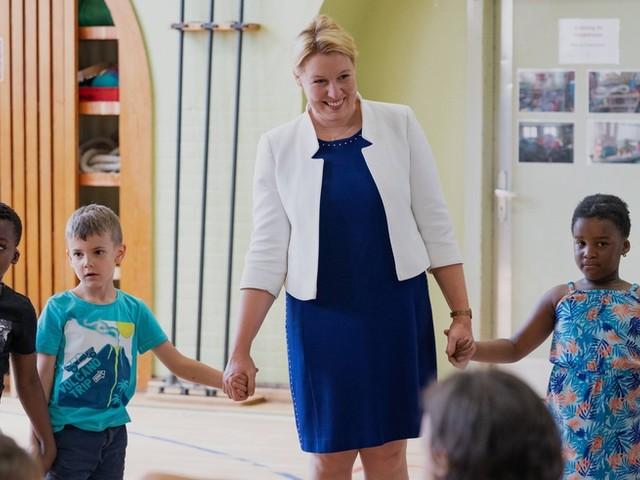 Ministerin Giffey will keine SPD-Chefin werden – und wohl ganz die Bühne verlassen