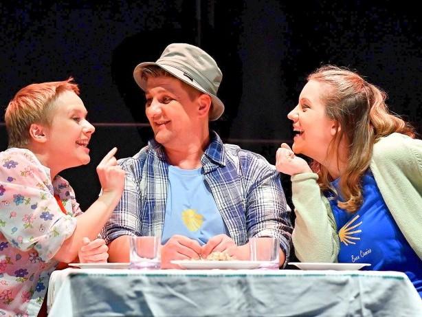 "Theater: Hape Kerkelings ""Ich bin dann mal weg auf der Bühne des WLT"