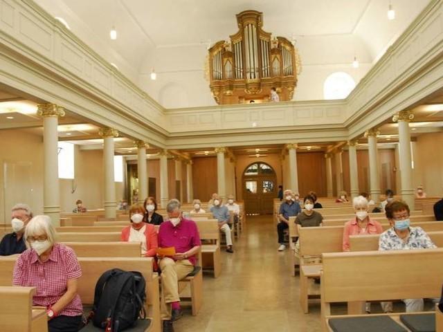 Schriesheim: Orgelmusik zur Marktzeit nur mit Attest