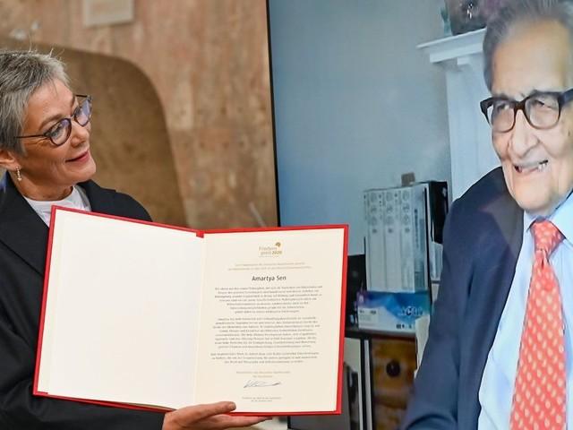 Philosoph Amartya Sen zu Recht mit dem Friedenspreis geehrt