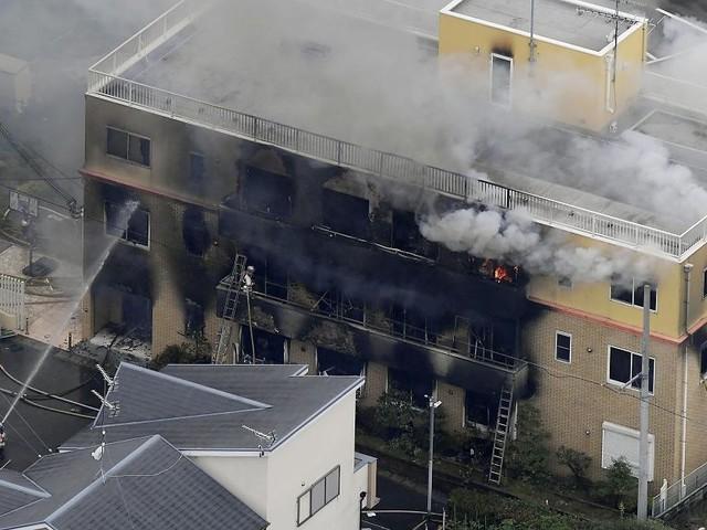 Mann legte offenbar Feuer - Brand in Animationsstudio in Japan: Zahl der Toten steigt auf 24