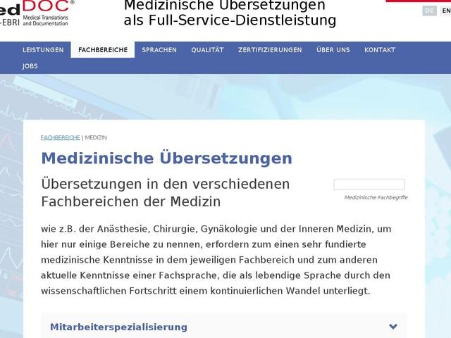 Medizinische Übersetzung | Übersetzer.jetzt - Anderes - Anygator.com