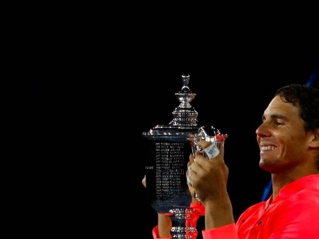 US Open:Nadal, der Feldherr