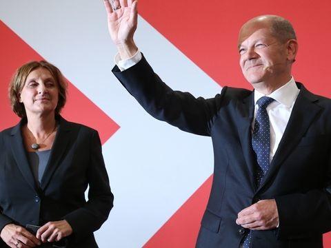 Bundestagswahl: SPDgewinnt Bundestagswahl vor Union