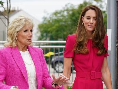 Erstes Treffen von First Lady Jill Biden und Herzogin Kate