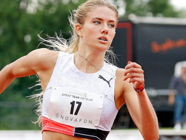 Olympionikin Alica Schmidt tauscht Rennbahn gegen Laufsteg