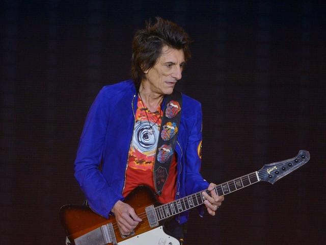 Rolling Stones: Hier feuert Ronnie Wood die englische Nationalelf an