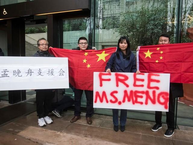 Huawei-Managerin kommt gegen Kaution frei, China verhaftet Kanadier