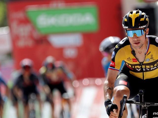 Roglic holt sich die elfte Etappe der Vuelta, Großschartner Siebenter