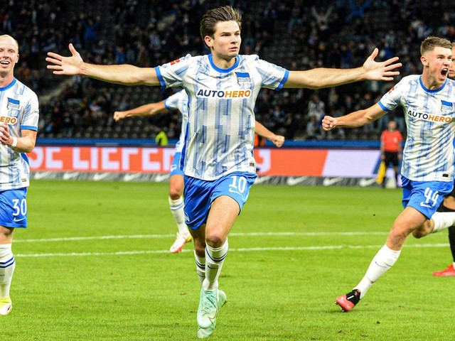 Dank Ekkelenkamp und Eigentor: Hertha BSC gelingt gegen Fürth zweiter Sieg in Folge