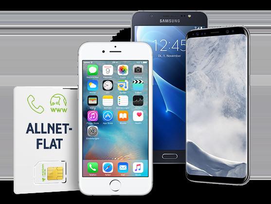 Top Smartphone- und Handy-Angebote mit Vertrag - mobilcom-debitel