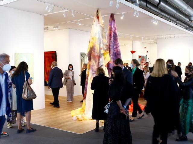 Art Basel: Weniger Publikum, aber kräftige Verkäufe