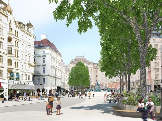 Begegnungszone und Bäume: So soll der Neue Markt künftig aussehen