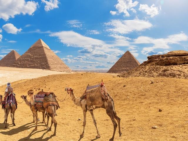Pyramiden von Gizeh: Kamel- und Pferdereiten ist bald tabu