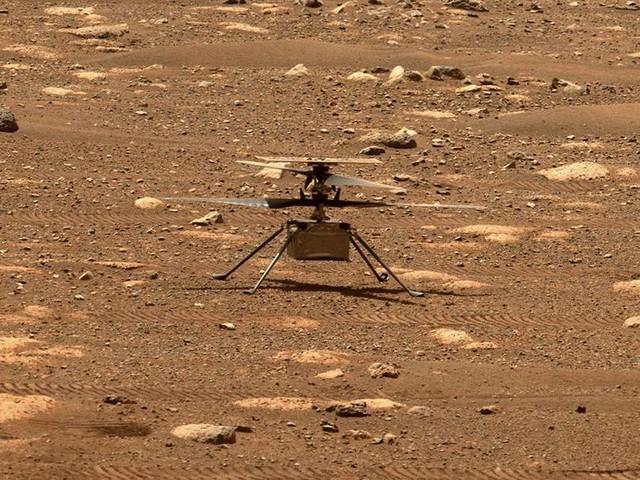 "Nasa: Mars-Hubschrauber ""Ingenuity"" absolviert ""bislang komplexesten"" Flug"