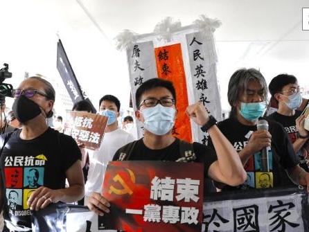 Dutzende Festnahmen in Hongkong nach neuem Sicherheitsgesetz