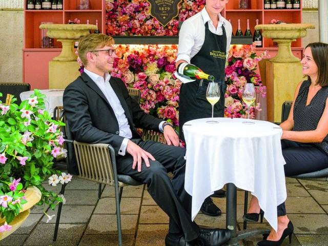 Hotspot: Champagner-Booster in der City