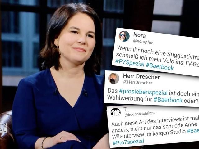 """Twitter-Reaktionen: Baerbocks erstes TV-Interview als Grünen-Kanzlerkandidatin: """"Noch Fragen?"""""""