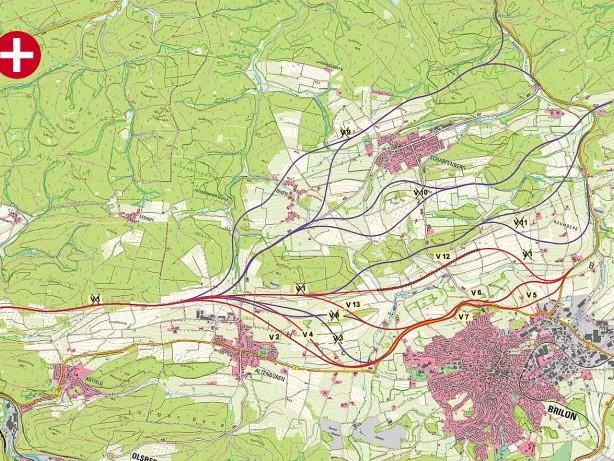 Verkehr: Ein Tunnel für die B7n? Neue Variante für Brilon im Gespräch